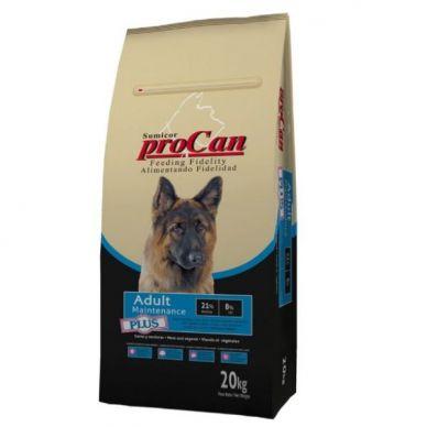 Pienso perro Adult Mantenimiento Plus - Sumicor Procan Coren - 20Kg