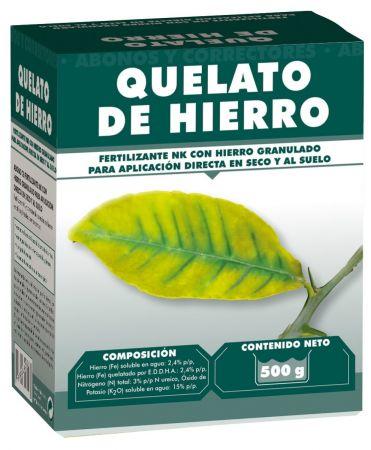 QUELATO DE HIERRO 2,4% - MASSÓ - 500g