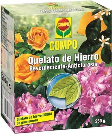 QUELATO DE HIERRO Reverdeciente Anticlorosis - COMPO - 250g