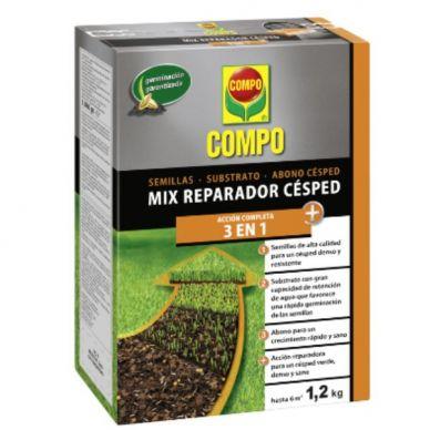 Reparador Césped Mix 3 en 1 - Compo - 1,2Kg
