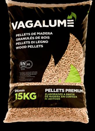Pellets Vagalume 1 palet - 15 kg/Saco