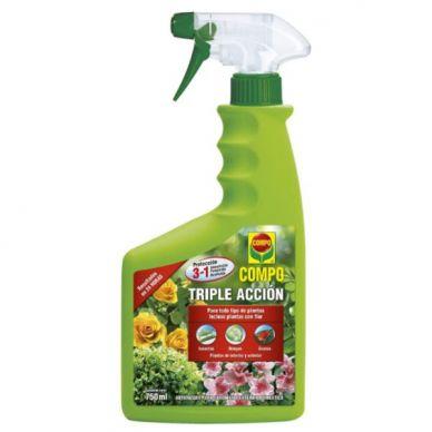 Triple acción insecticida, acaricida y fungicida - Compo - 750ml